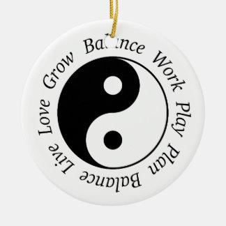 Balance Yin Yang Ornament
