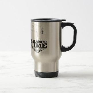balance your time travel mug