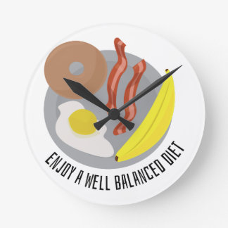 Balanced Diet Clocks