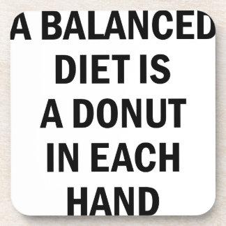 Balanced Diet Coaster