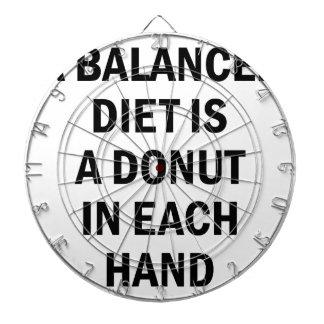 Balanced Diet Dartboard