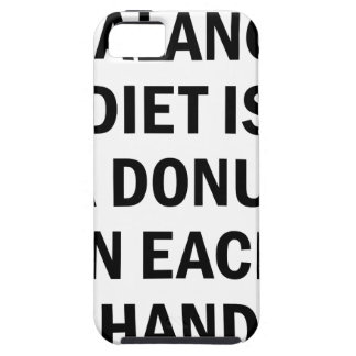 Balanced Diet iPhone 5 Cover