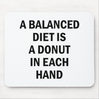 Balanced Diet Mouse Pad