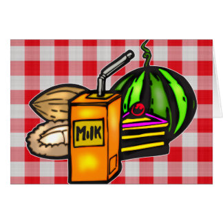 Balanced Meals Note Card