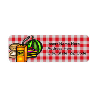 Balanced Meals Custom Return Address Labels