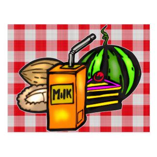 Balanced Meals Postcard