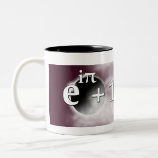 Balanced Meaning of Life Mug with Euler's Identity