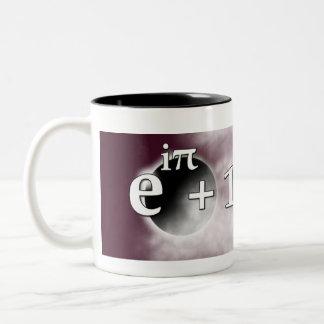Balanced Meaning of Life Mug with Euler's Identity