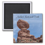 Balanced Rock- Arches National Park Refrigerator Magnet