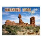 Balanced Rock, Arches National Park, Utah Postcard