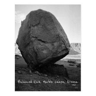 Balanced Rock, Marble Canyon Arizona USA 1965 Postcard
