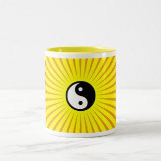 Balanced Two-Tone Coffee Mug