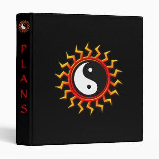 Balanced Yin Yang Sun Binder
