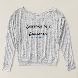 Balanceholic GROWING INTO GREATNESS Flowy Top