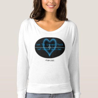 Balanceholic The Strongest Muscle Heart Shirt