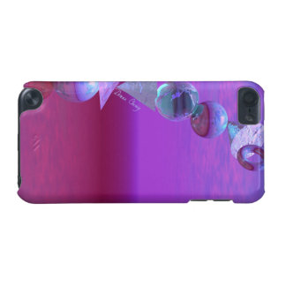 Balancing, Abstract Fuchsia and Violet Equilibrium iPod Touch (5th Generation) Cover