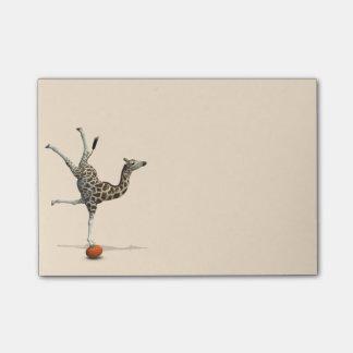Balancing Giraffe Post-it® Notes