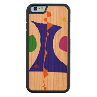 Balancing on Fire Carved Cherry iPhone 6 Bumper Case