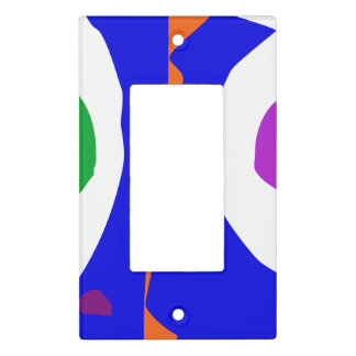 Balancing on Fire Light Switch Cover
