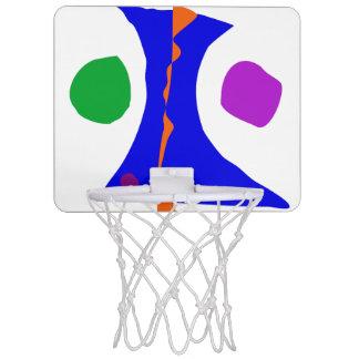 Balancing on Fire Mini Basketball Hoop
