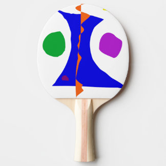 Balancing on Fire Ping-Pong Paddle