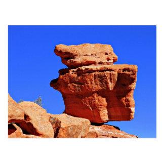 Balancing Rock Postcard