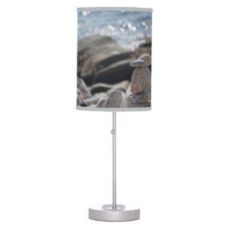 Balancing Rocks Stones Ocean Water Lamp
