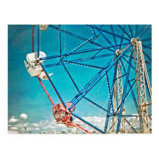Balboa Ferris Wheel Postcard