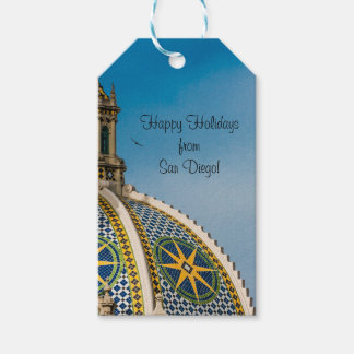 Balboa Park San Diego Mosaic Dome Architecture 2 Gift Tags