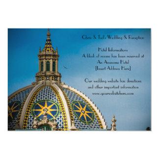 Balboa Park San Diego Mosaic Dome Information Card