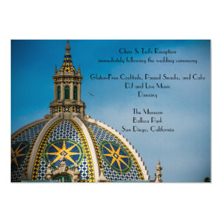 Balboa Park San Diego Mosaic Dome Reception Card