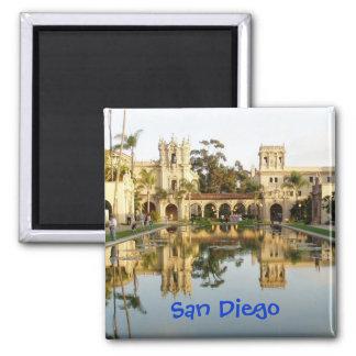 Balboa Park San Diego Square Magnet
