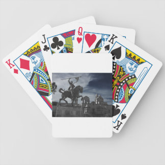Balboa Park Statue Bicycle Playing Cards