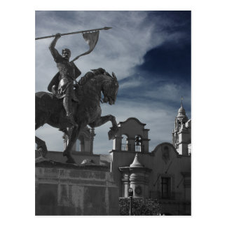 Balboa Park Statue Postcard
