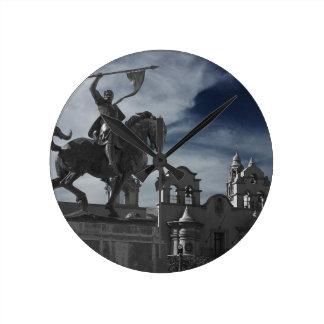Balboa Park Statue Round Clock
