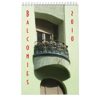 Balconies 2010 calendars
