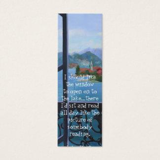 Balcony Bookmark Mini Business Card