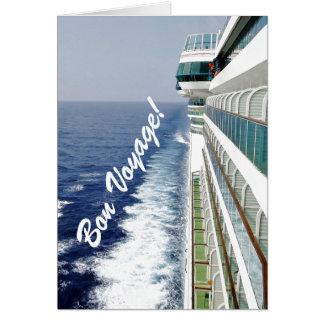 Balcony Row Bon Voyage Card