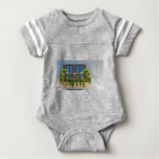 balcuny in piazza navona baby bodysuit