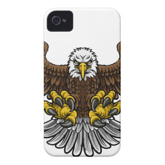 Bald American Eagle Mascot iPhone 4 Cases