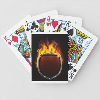 Bald American Eagle Mascot Poker Deck
