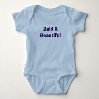 """Bald & Beautiful Baby Bodysuit"