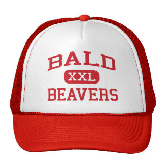 Bald - Beavers - High School - Baldwin Georgia Trucker Hat