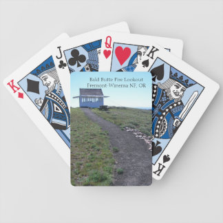 Bald Butte Lookout Fremont Winema National Forest Bicycle Playing Cards