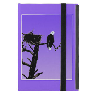 Bald Eagle at Sunset Cases For iPad Mini