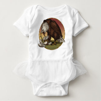 Bald eagle baby bodysuit