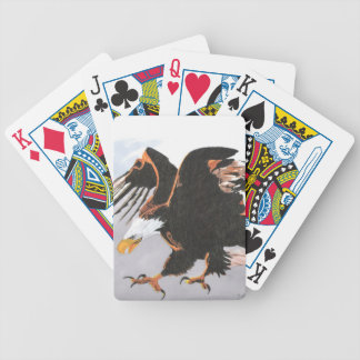 Bald Eagle Bicycle Playing Cards