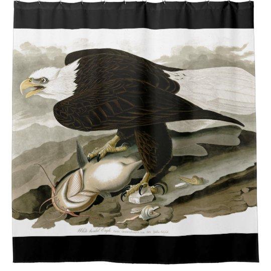 Bald Eagle Bird Audubon Wildlife Shower Curtain