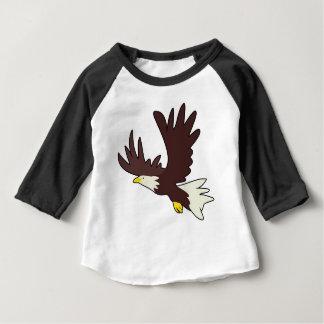 Bald Eagle Cartoon Baby T-Shirt