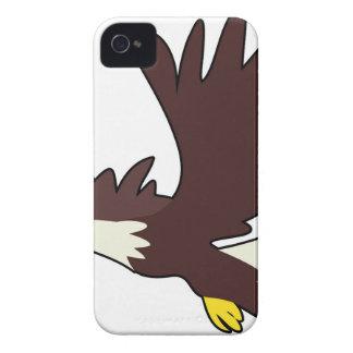 Bald Eagle Cartoon iPhone 4 Case-Mate Case